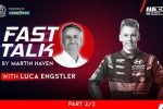 No time to stop: Part two of Luca Engstler's #WTCR Fast Talk podcast presented by Goodyear now available
