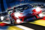 #SPA24h - Total 24 Hours of Spa marks 100-day countdown with dazzling night racing poster