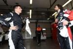 Il campione europeo e italiano Giovanni Altoè nel TCR DSG Endurance sulla CUPRA con il nipote Alessandro