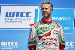 WTCC 2017 Tiago Monteiro leaves hospital