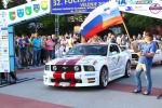 Ruggero Ravaglioli al  via del  Fuchs Rally Velenje in Slovenia