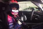 Test, Karol Basz in pista a Imola con la Lamborghini