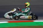 Pietro Delli Guanti in crescita nella tappa inglese del CIK-FIA European Championship.
