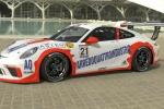 Glauco Solieri con Fach Auto nel trofeo internazionale Porsche