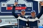 Campionato Italiano WRC - 41. Rally 1000 Miglia- Vittoria di Albertini-Fappani sul lungolago di Salò