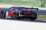 Italiano GT - A Vallelunga Audi Sport Italia passa dalla delusione al podio nel giro di poche ore