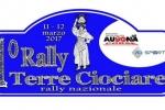 """Rally Terre Ciociare 2017 - La prova speciale """"Badia"""" diventa piesse Valerio Cologgi"""