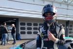 Andrea Cola - Come primo classificato nel campionato tedesco Drexler F.3 Under 25, il pilota romano ha avuto modo di provare Huracan GT3 Evo del Team Konrad.