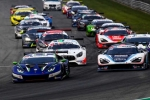 Le vetture dell'International GT Open si sfidano all'Autodromo Nazionale Monza