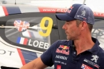 LYDDEN HILL RALLYCROSS: SÉBASTIEN LOEB AT THE FOOT OF THE PODIUM