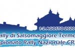 3° Rally di Salsomaggiore Terme 1-2 Agosto 2020