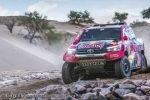 Dakar Day 12 Report - Dakar heroes Al Attiyah & Peterhansel duke it out