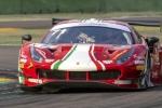 Rovera nella mischia del Tricolore GT a Vallelunga con la Ferrari 488