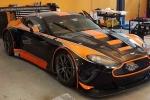 L'Aston Martin della Solaris Motorsport in viaggio verso l'Estoril