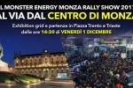 Il Monster Energy Monza Rally Show parte dal centro di Monza