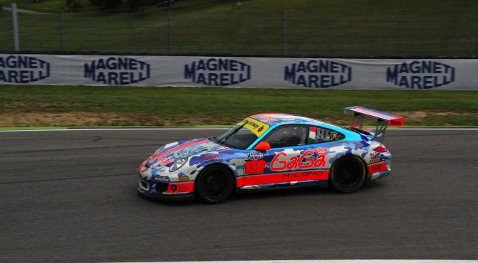 Galbiati-Rangoni (Antonelli Motorsport, Porsche 997 GTCup #132)