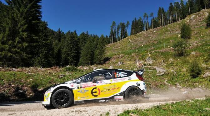 Manuel Sossella, Gabriele Falzone (Ford Fiesta WRC #2, Smart Com