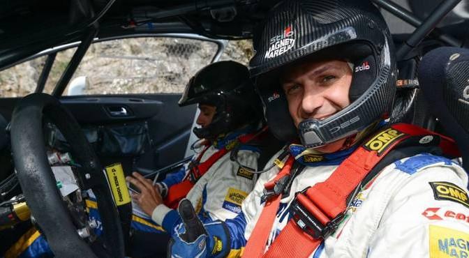 Luca Pedersoli Matteo Romano (Citroen C4 WRC #1);