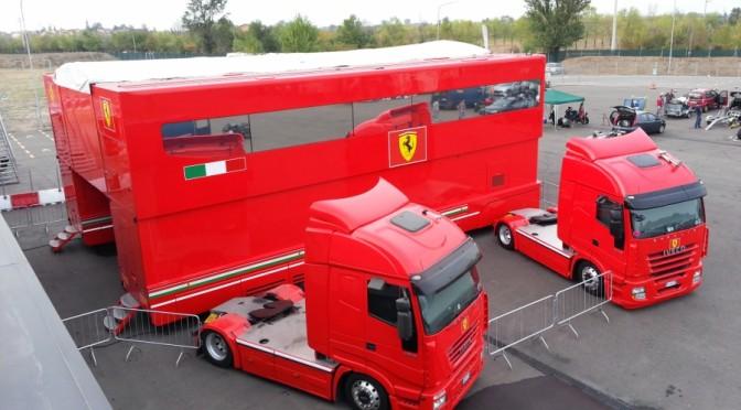 Ferrari F1 Motorhome