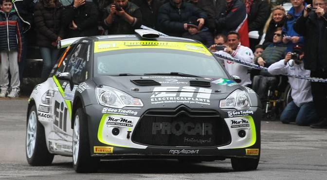 Rudy Michelini, Michele Perna (Citroen DS3 R5 #6, Movisport)