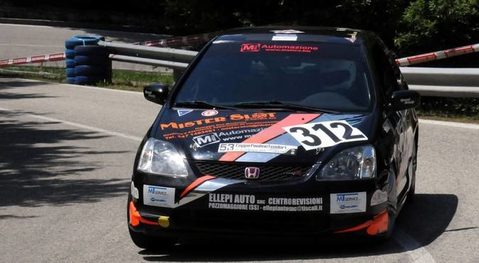 Tonino Cossu (Magliona Motor sport - Honda Civic Type R # 312)