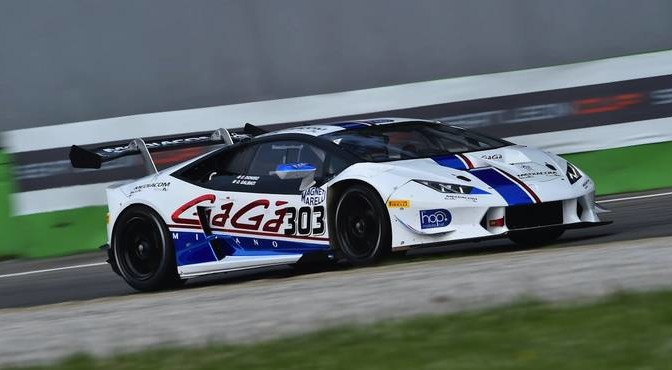 Galbiati-Dionisio (Antonelli Motorsport,Lamborghini Huracan-GTCup #303)