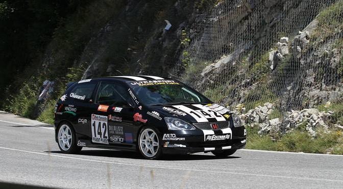 Roberto Chiavaroli Honda Civic TR (Sc Rombo dei Motori # 142)