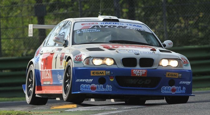 Meloni-Tresoldi (W&D Racing Team,BMW M3 E46 #1)