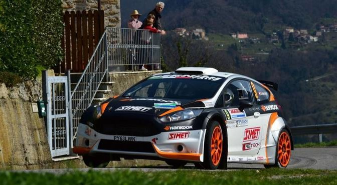 Stefano Baccega, Valerie Ottaviani (Ford Fiesta R5 #9)