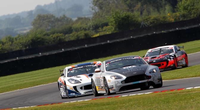 Will Moore / Dennis Strandberg Academy Motorsport Aston Martin GT4 Challenge
