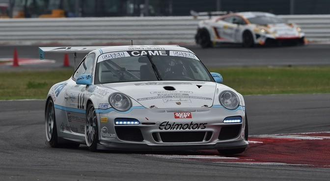 Baccani-Venerosi (Ebimotors,Porsche 997 Cup #112)