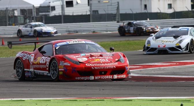 Mugelli-Di Amato (MP1 Corse, Ferrari 458 italia GT3 #9)