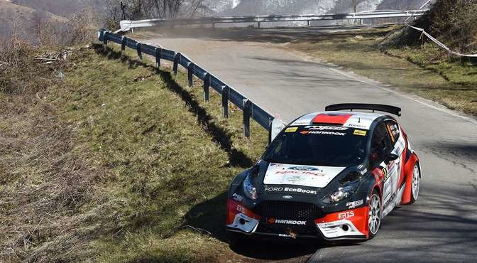 Stefano Baccega, Marco Menchini (Ford Fiesta R5 #9, Giesse Promotion)