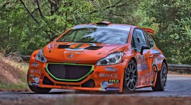 Simone Campedelli, Danilo Fappani (Peugeot 207 S2000 #7, Accademy Asd)