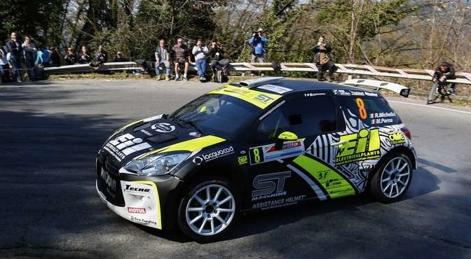Rudy Michelini, Michele Perna (Citroen DS3 R5 #8, Movisport)