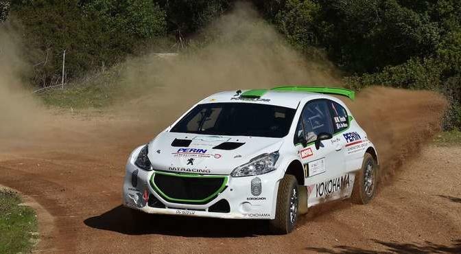 Mauro Trentin, Alice De Marco (Peugeot 208T16 R5 #1, Movisport S.R.L)
