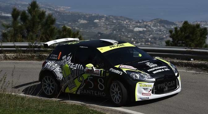 Ciava, Daniele Michi (Citroen DS3 R5 R5 #8, Movisport)