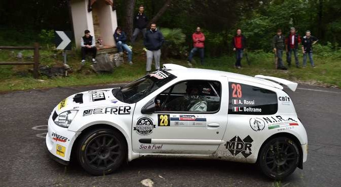 Alberto Rossi, Luca Beltrame (Renault Clio S1600 #28)