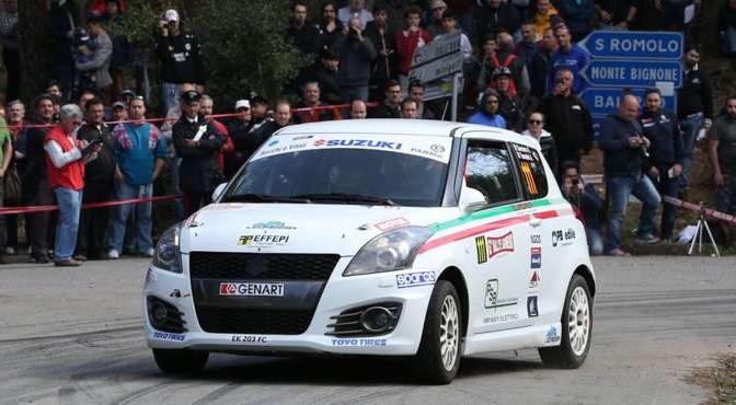 Gianluca Saresera, Andrea Tumaini (Suzuki Swift R1B #111, Leonessa Corse A.S.D)