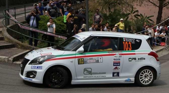 Gianluca Saresera, Andrea Tumaini (Suzuki Swift R R1B #103)