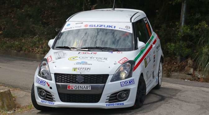 Gianluca Saresera, Andrea Tumaini (Suzuki Swift R R1B #103)