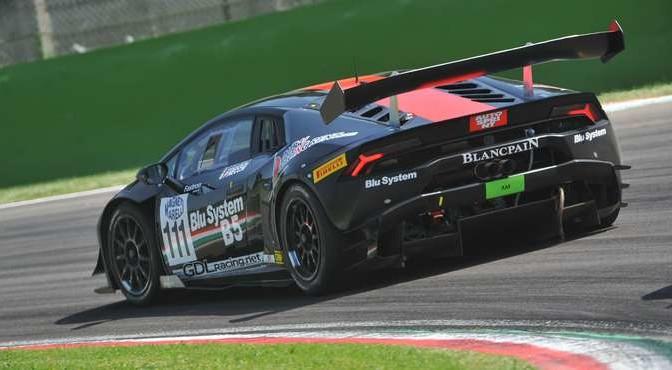Necchi-De Lorenzi (GDL,Lamborghini Huracan S.GTCup #111)