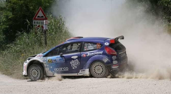 Federico Della Casa , Domenico Pozzi (Ford Fiesta S2000 #25)
