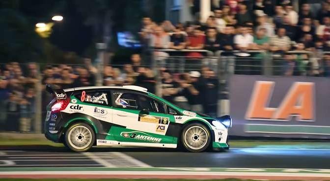 Lorenzo Della Casa, Michele Ferrara (Ford Fiesta WRC #8, New Turbomark)