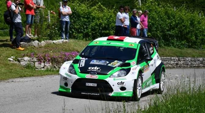 Lorenzo Della Casa, Michele Ferrara (Ford Fiesta WRC #7, New Turbomark)