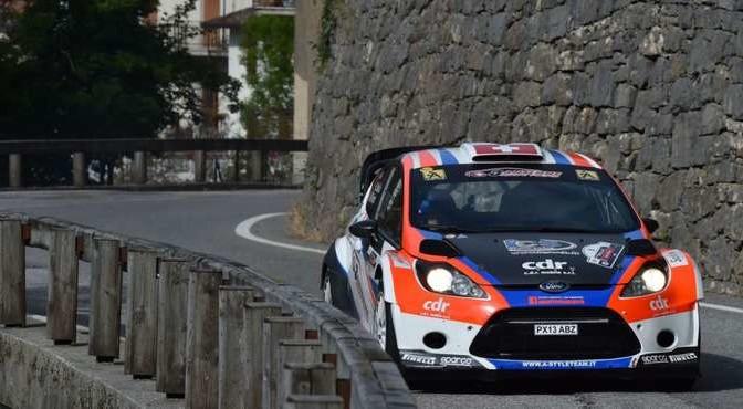 Lorenzo Della Casa, Michele Ferrara (Ford Fiesta WRC #8, New Turbomark Rally Team)