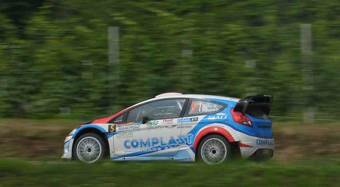 Marco Signor, Patrick Bernardi (Ford Focus WRC #5, Sama Racing)