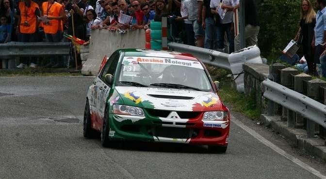 GABRIELLA PEDRONI Mitsubischi evo 8 #131 (Sc Piave Motorsport)