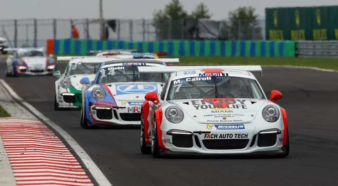Porsche Mobil 1 Supercup Budapest, Hungary 22- 24 July 2016