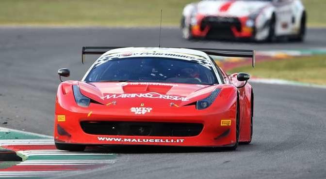 Galassi-Tempesta (Team Malucelli,Ferrari 458 Italia-GT3 #60)